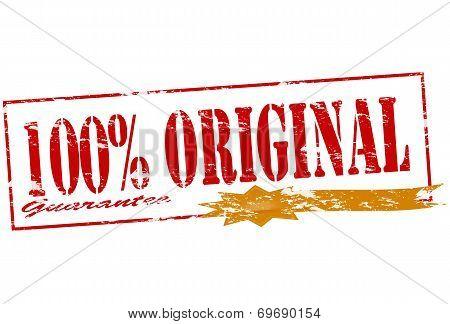 One Hundred Percent Original