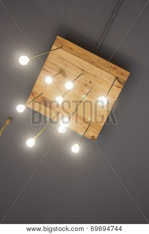 Beautiful Vintage Lighting Decored Ceiling