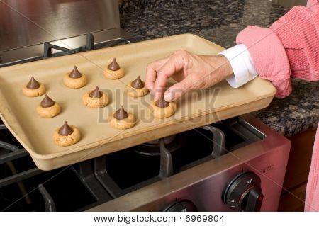 Preparing Cookie Dough