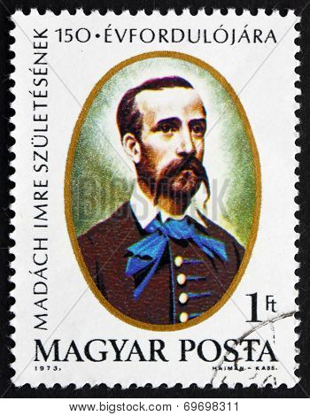 Postage Stamp Hungary 1973 Imre Madach, Writer And Poet