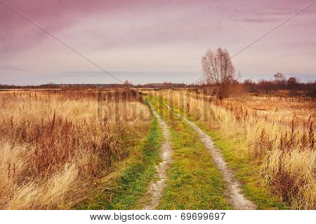 Rural Countryside Road