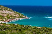 foto of cree  - Green bay near Agia Pelagia Cree Greece