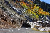 foto of million-dollar  - Million dollar High way in autumn time - JPG