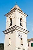 pic of quaint  - Quaint tower bathed in sunlight - JPG