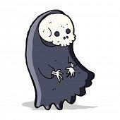 foto of ghoul  - cartoon spooky ghoul - JPG