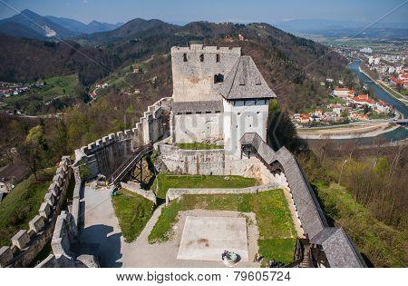 Celje castle, tourist attraction, Slovenia