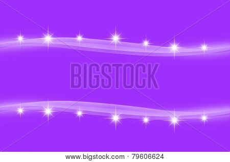 Abstract Purple Color Wave Background