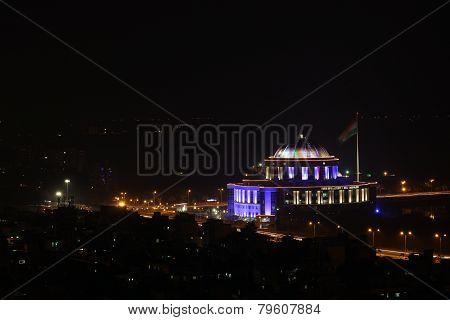 NMMC Building(Municipal building) at night