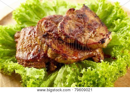 Grilled Pork Neck