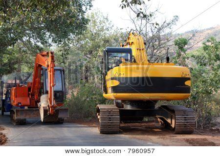 Construção de estradas