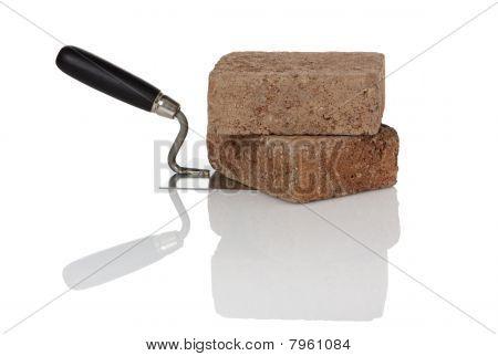 Bricks On Trowel