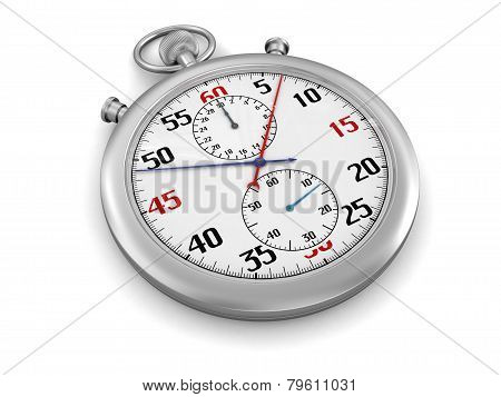 Stopwatch (clipping path included)