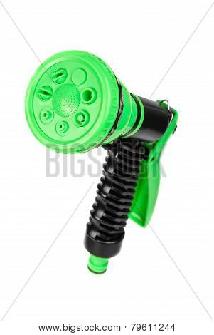 Watering Gun  Isolated On White Background