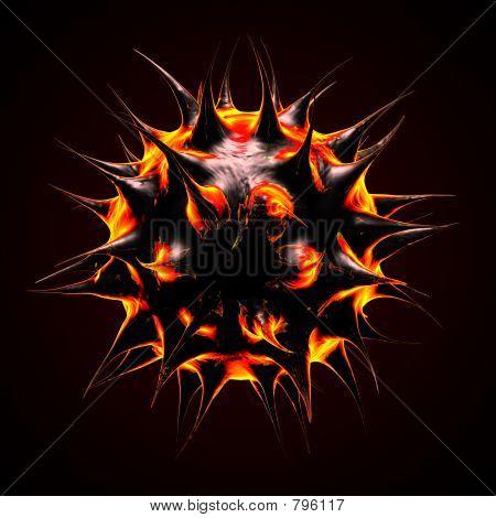Fire like microbe