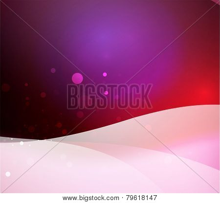 Color purple and light, waves and lines. Abstract background
