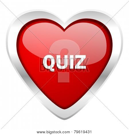 quiz valentine icon