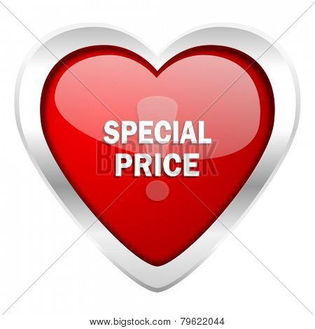 special price valentine icon
