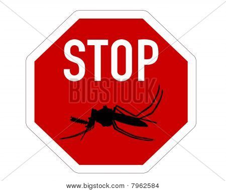 Stop Sign For Mosquitos