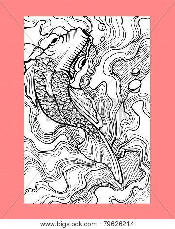 Koi fish b