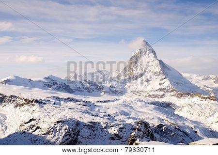 Amazing Matterhorn landscape, Zermatt, Switzerland