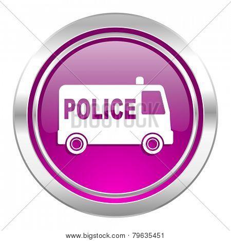 police violet icon