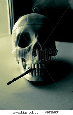 Smoking harms your health