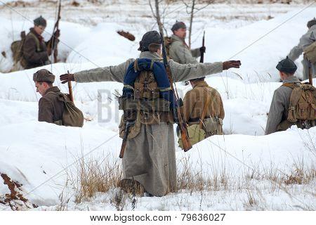 To Arrange Soldiers - military reenactment