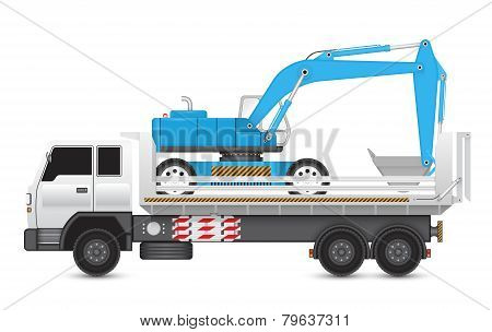 Backhoe_on_truck
