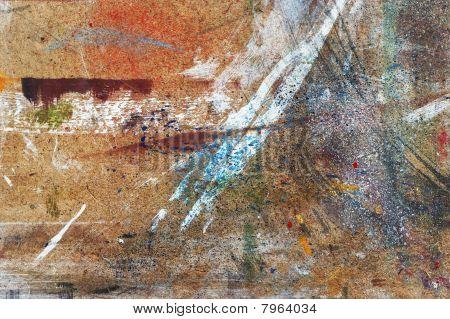 Workbench Of Painter