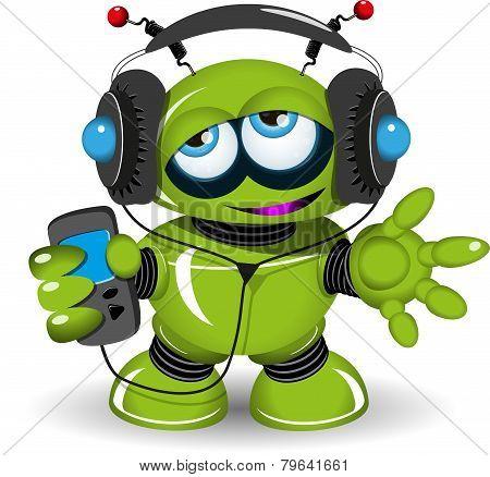 Robot Music Lover