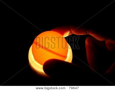 Hand Holding Ball
