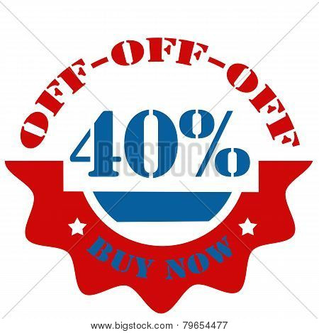Buy Now-40% Off