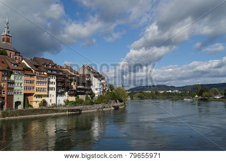 Laufenburg, Germany, at the Rhine