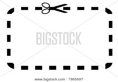 Blank Coupon Or Voucher
