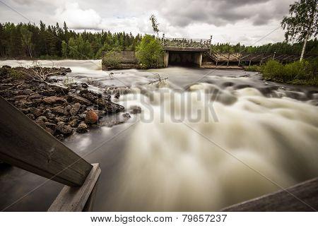 Raging River in Sweden