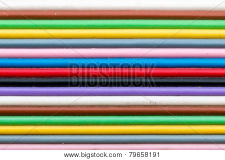 Colored electrical cables