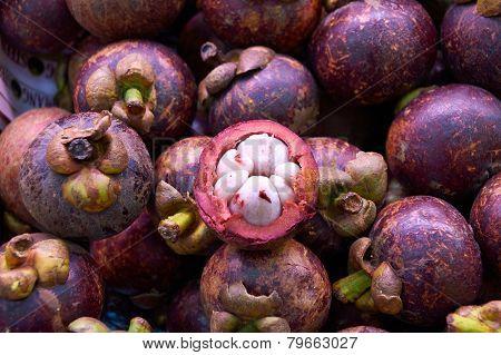 Mangosteen Queen Of Fruits With  Sweet  Taste