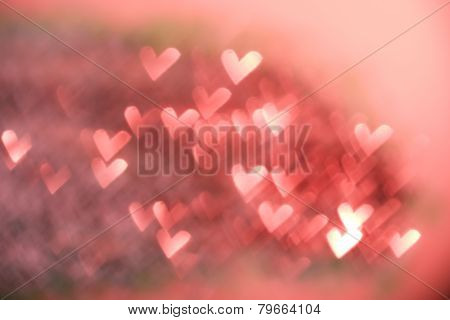Red Festive Valentine's Day Background