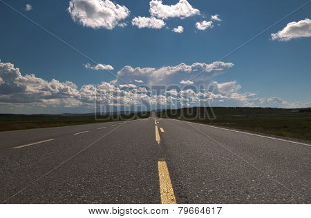 Empty Long Road