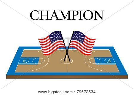 Basketball Champion Court United States