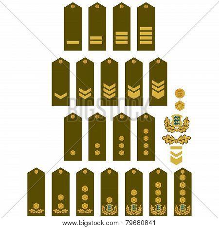 Armed Forces insignia Estonia