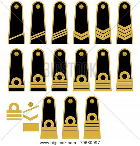 Lithuanian Navy insignia