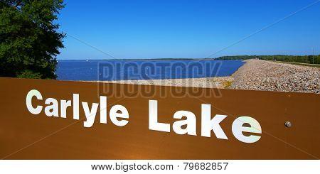 Carlyle Lake Landscape Illinois