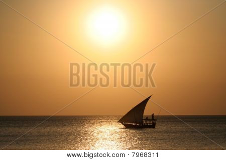 Dhow Sunset