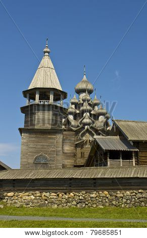 Wooden Churches In Kizhi Island, Russia