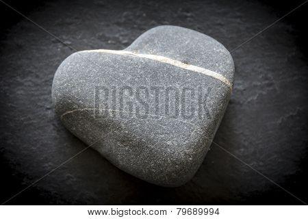 Valentines pebble