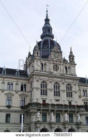 The guild hall of Graz in Austria