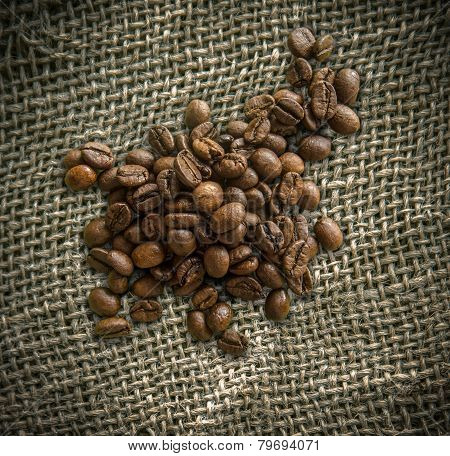 A Bag Of Fair Trade Coffee Beans