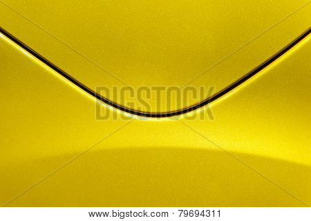 Yellow car body