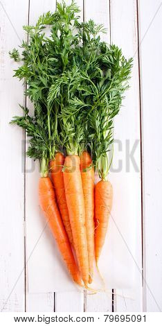 Fresh, Raw Carrot